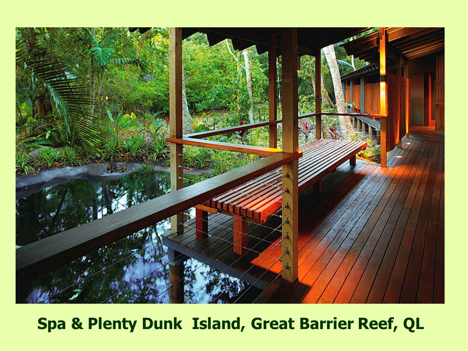The bar in Dunk Island, Great Barrier Reef, QL
