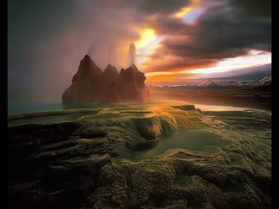 Landscape Winner Fly Geyser Fly Ranch, Black Rock Desert, Nevada, USA Rodney Lough, Happy Valley, Oregon, USA