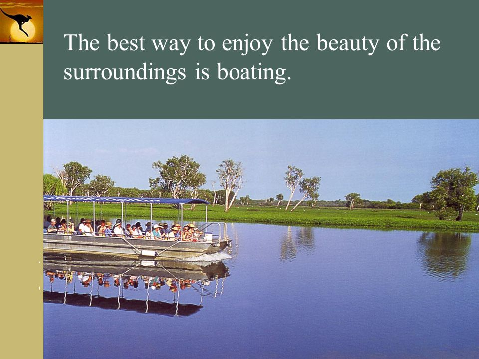 www.themegallery.com Company Logo The best way to enjoy the beauty of the surroundings is boating.