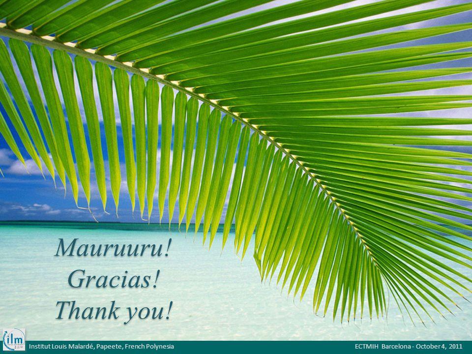 Mauruuru. Gracias. Thank you.