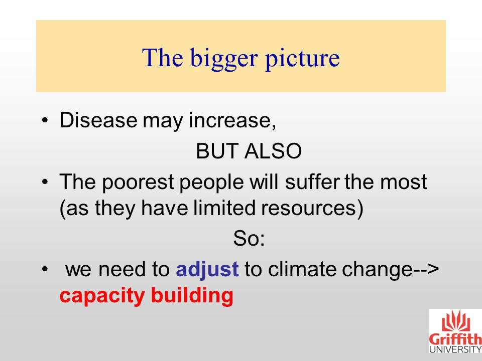 What can we do. We cannot prevent climate change.