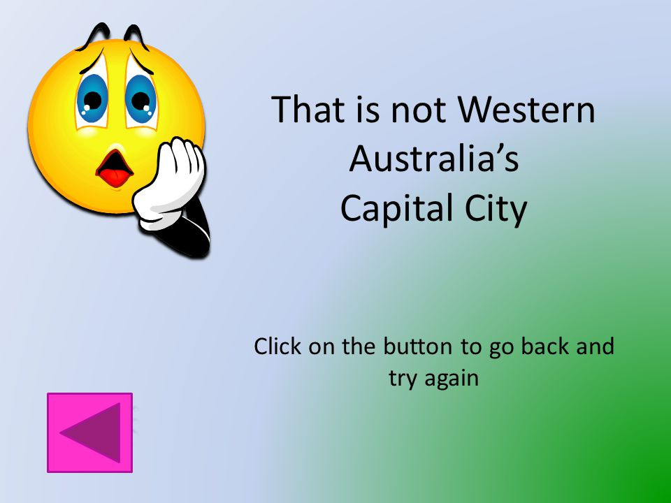 What is the Capital City of Western Australia.
