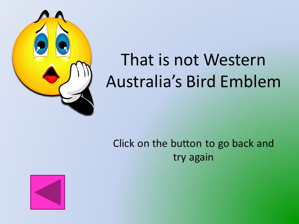 Which bird is the Bird Emblem of Western Australia.