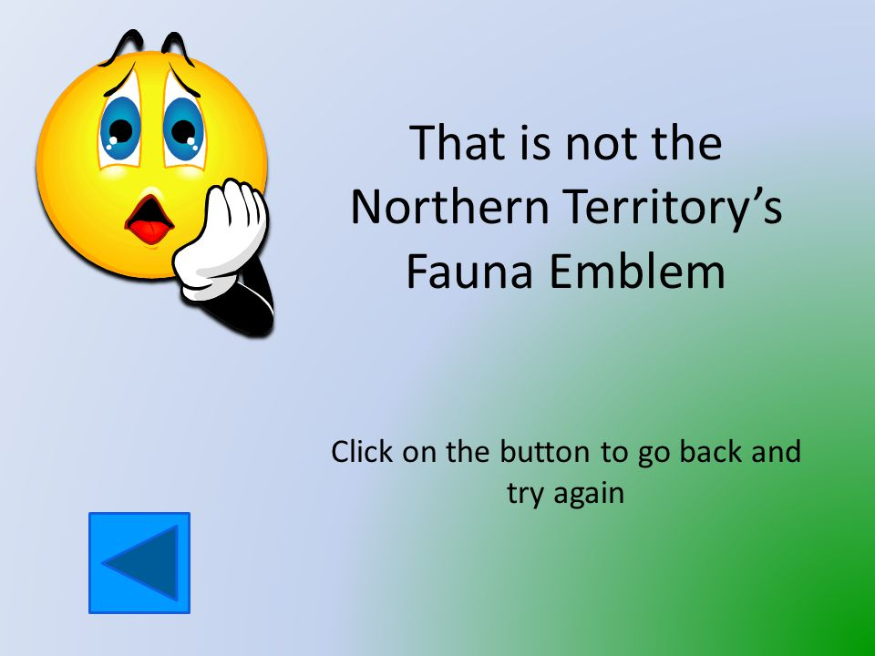 Which animal is Fauna Emblem of the Northern Territory.