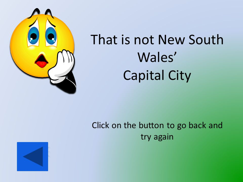 What is the Capital City of New South Wales.