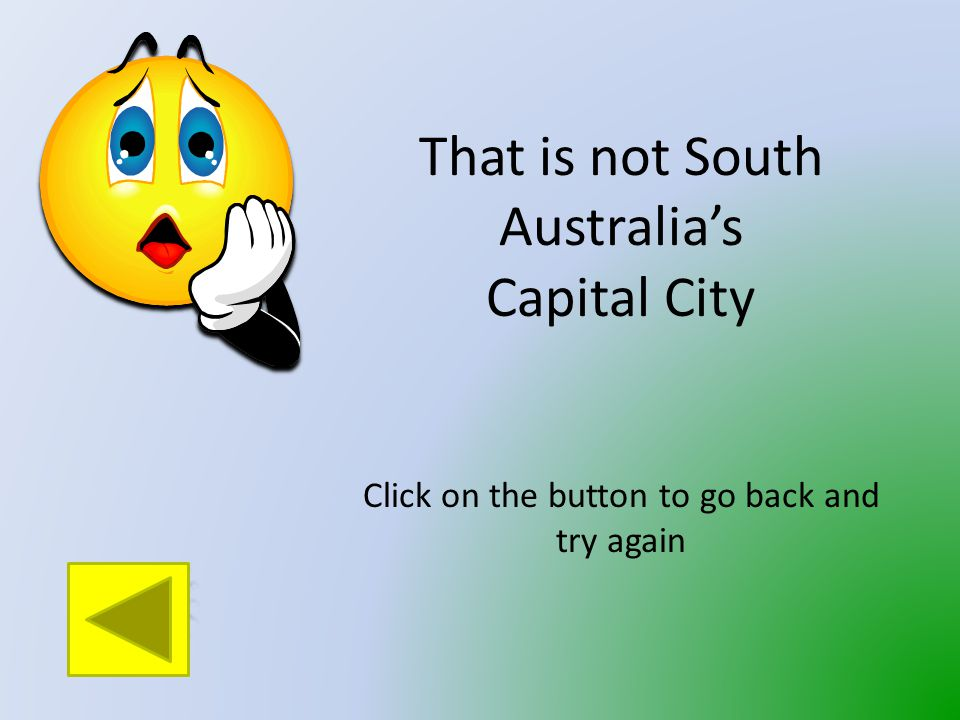 What is the Capital City of South Australia.