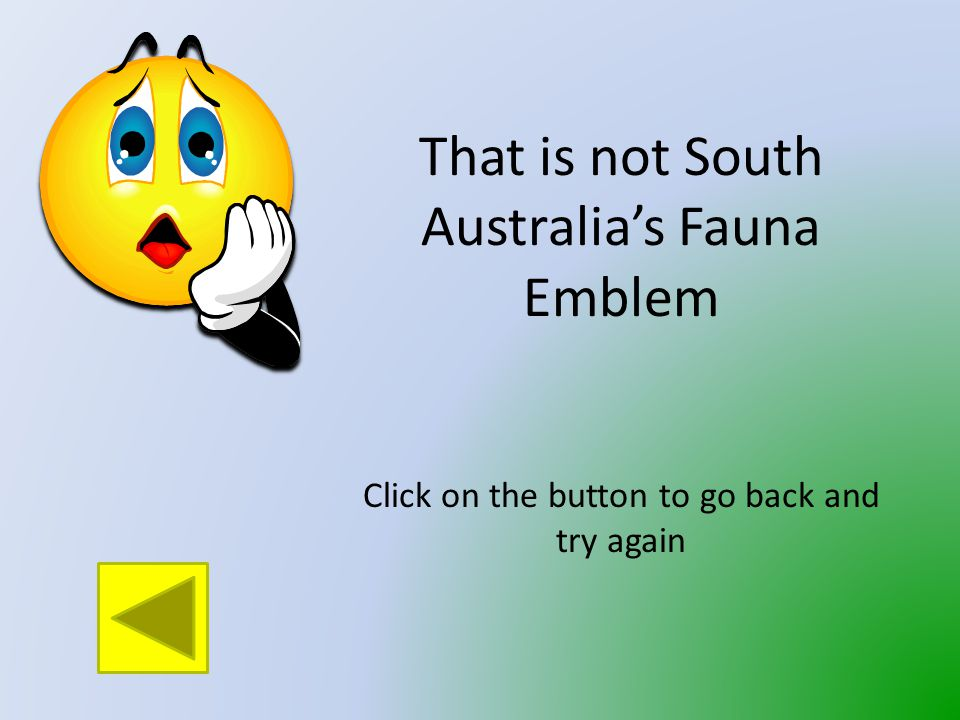 Which animal is Fauna Emblem of South Australia.
