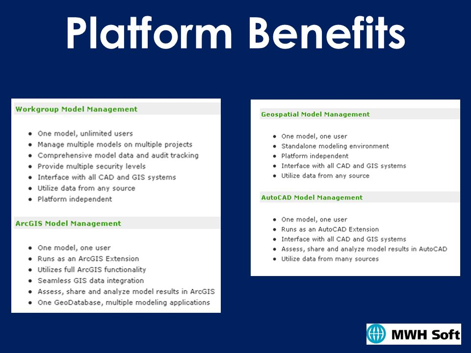 Platform Benefits