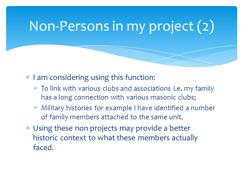  I am considering using this function:  To link with various clubs and associations i.e.