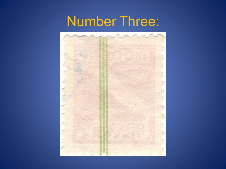 Number Three:
