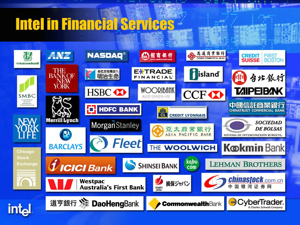 Intel in Financial Services
