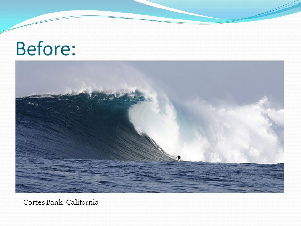 Before: Cortes Bank, California