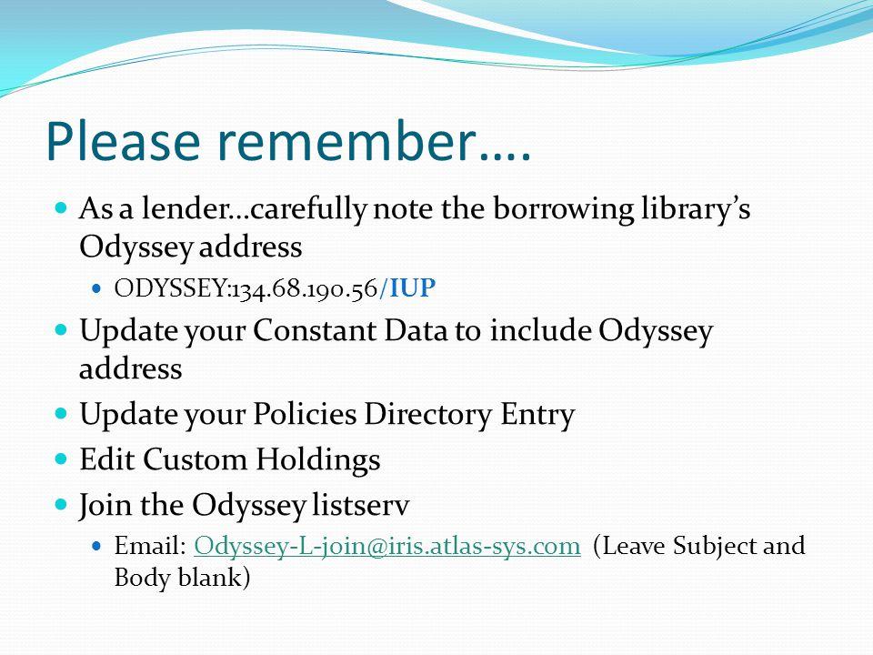 Borrowing Reports 1.