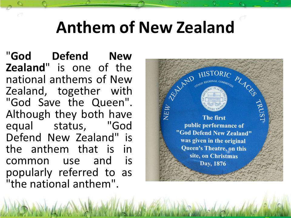 Anthem of New Zealand
