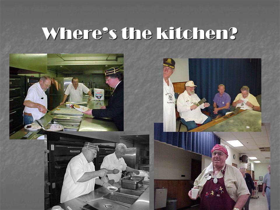 Where's the kitchen?
