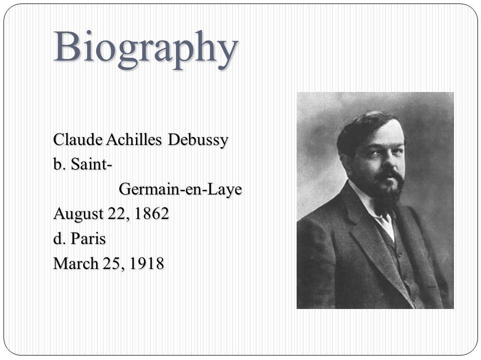 Claude Achilles Debussy Nocturnes - Nuages