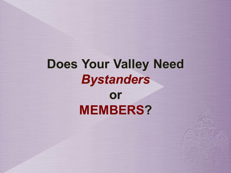 How Do You Transform a Bystander into a MEMBER?