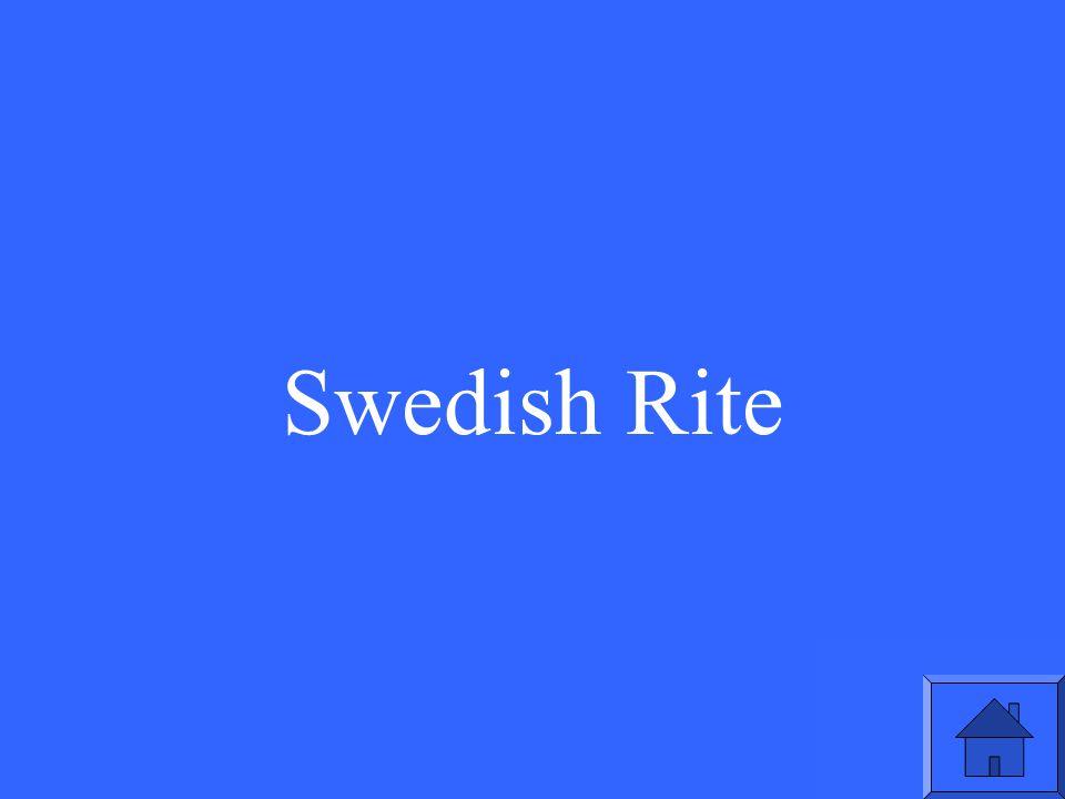 Swedish Rite