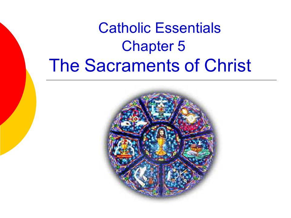 Sign, Symbol, Sacrament  St.