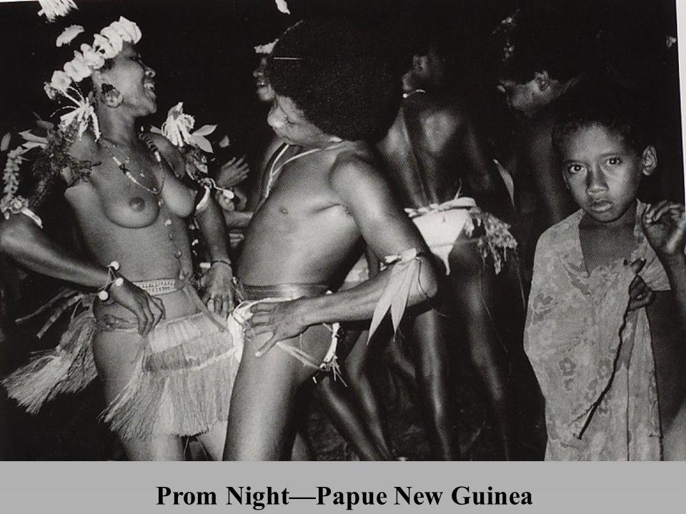 Prom Night—Papue New Guinea