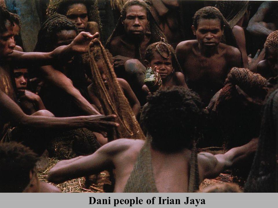 Dani people of Irian Jaya