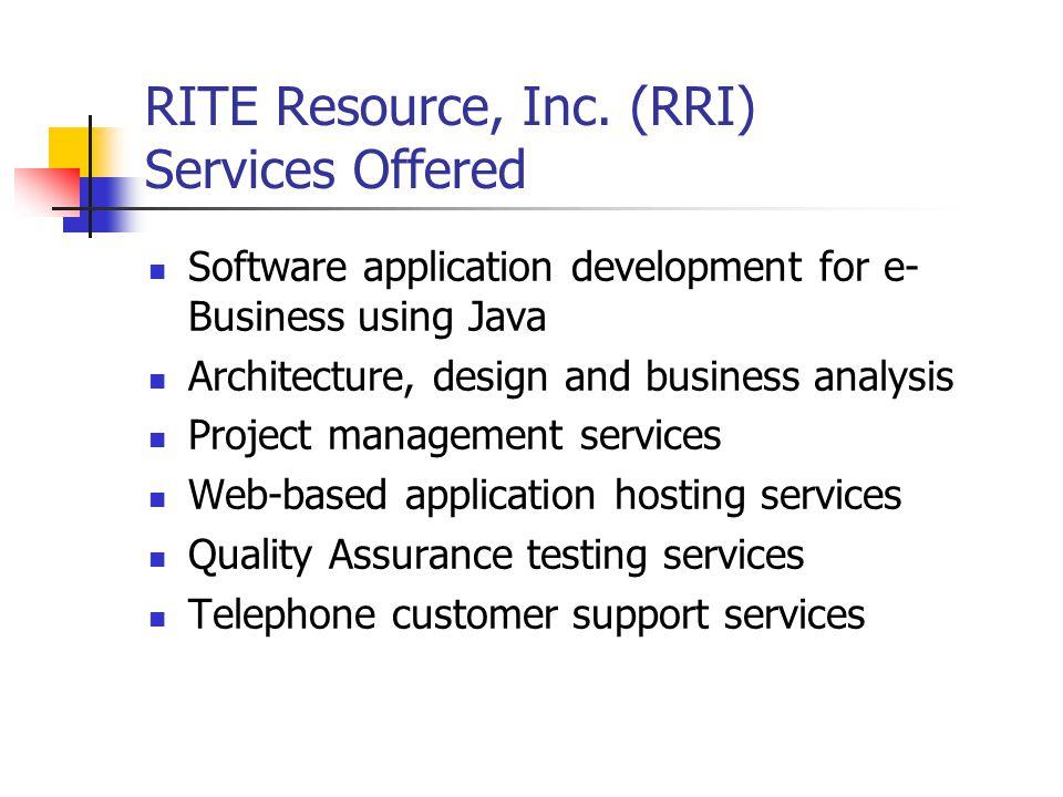 RITE Resource, Inc.