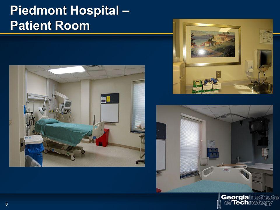 8 Piedmont Hospital – Patient Room