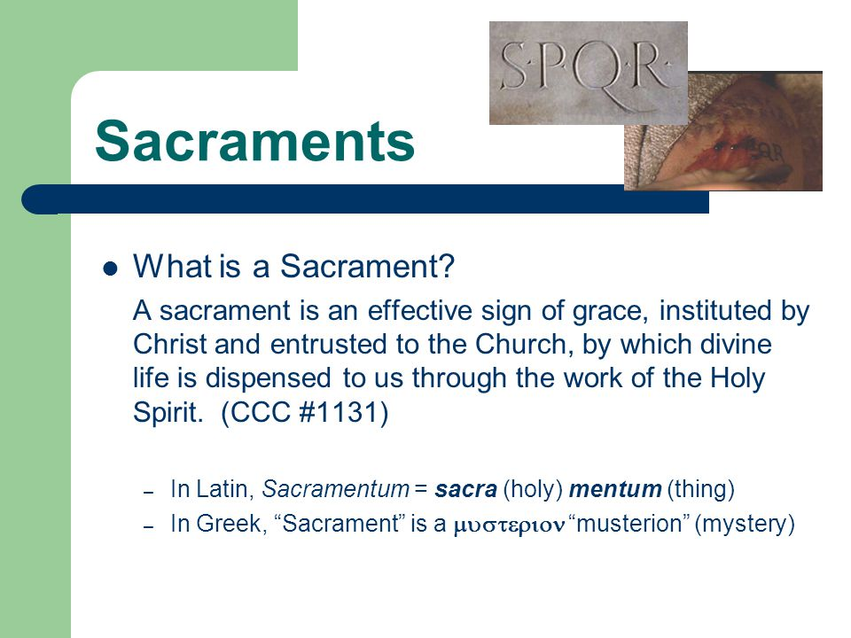 Sacraments What is sacramental ( sanctifying ) grace.