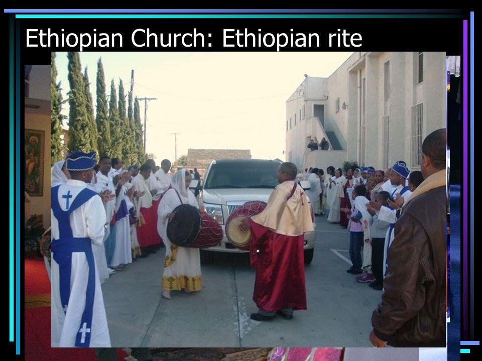 Ethiopian Church: Ethiopian rite