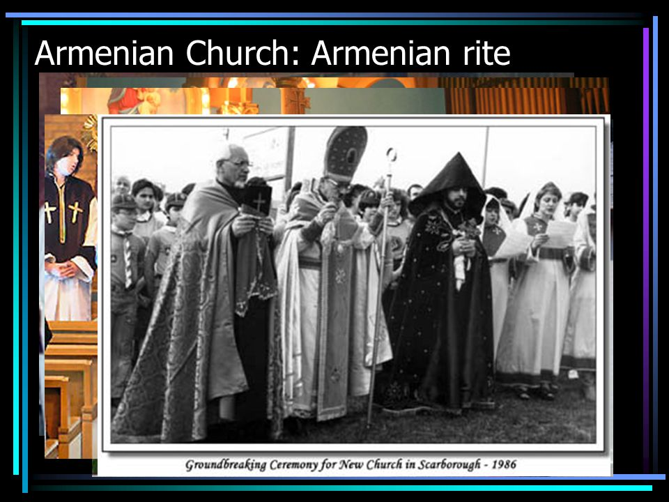 Armenian Church: Armenian rite