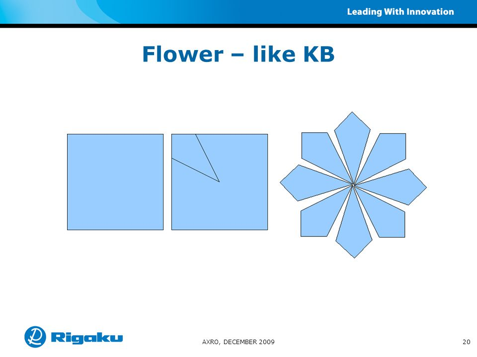 Flower – like KB AXRO, DECEMBER 200920
