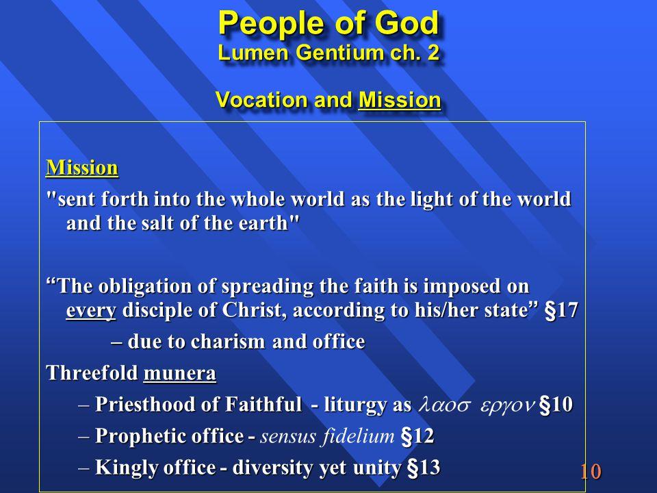  People of God Lumen Gentium ch.