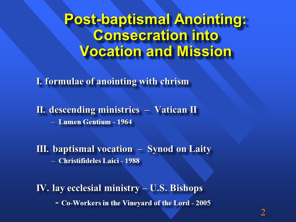  Descending Order of Ministry Bishops, therefore, with their helpers, the priests and deacons, have taken up the service of the community, presiding in place of God over the flock, whose shepherds they are, as teachers for doctrine, priests for sacred worship, and ministers for governing (Lumen Gentium II,20)