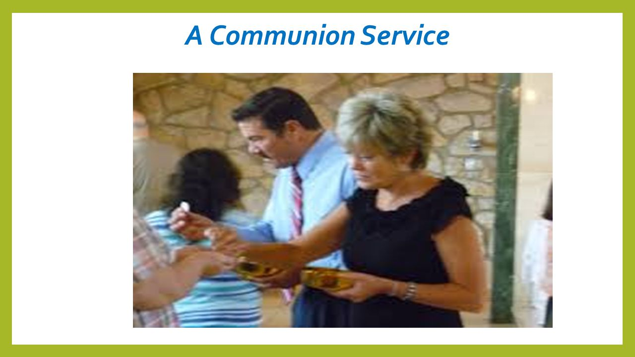 A Communion Service