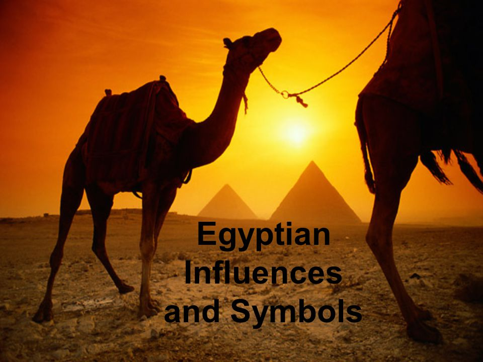 Egyptian Influences and Symbols