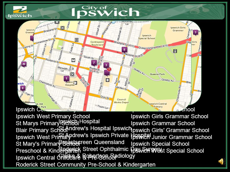 Ipswich is centrally located in the booming south east Queensland region of Australia.