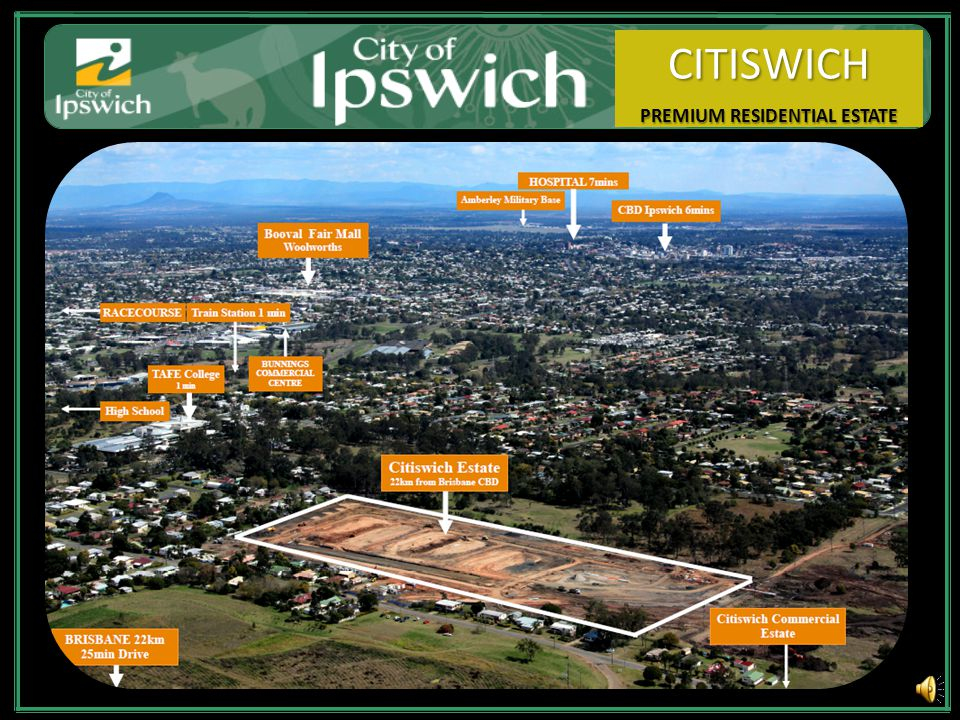 Citiswich Master Plan $3.03 Billion dollar Govt. expenditure.
