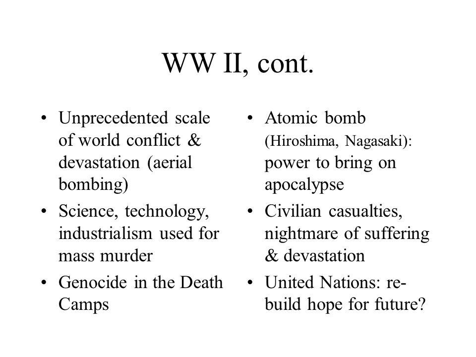 WW II, cont.