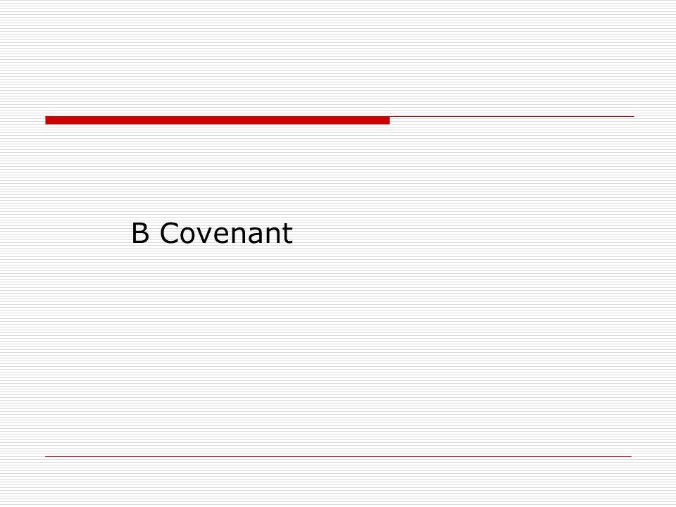 B Covenant