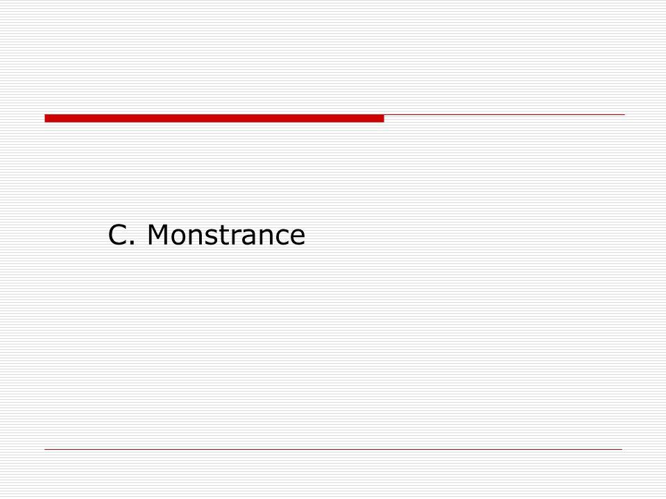 C. Monstrance