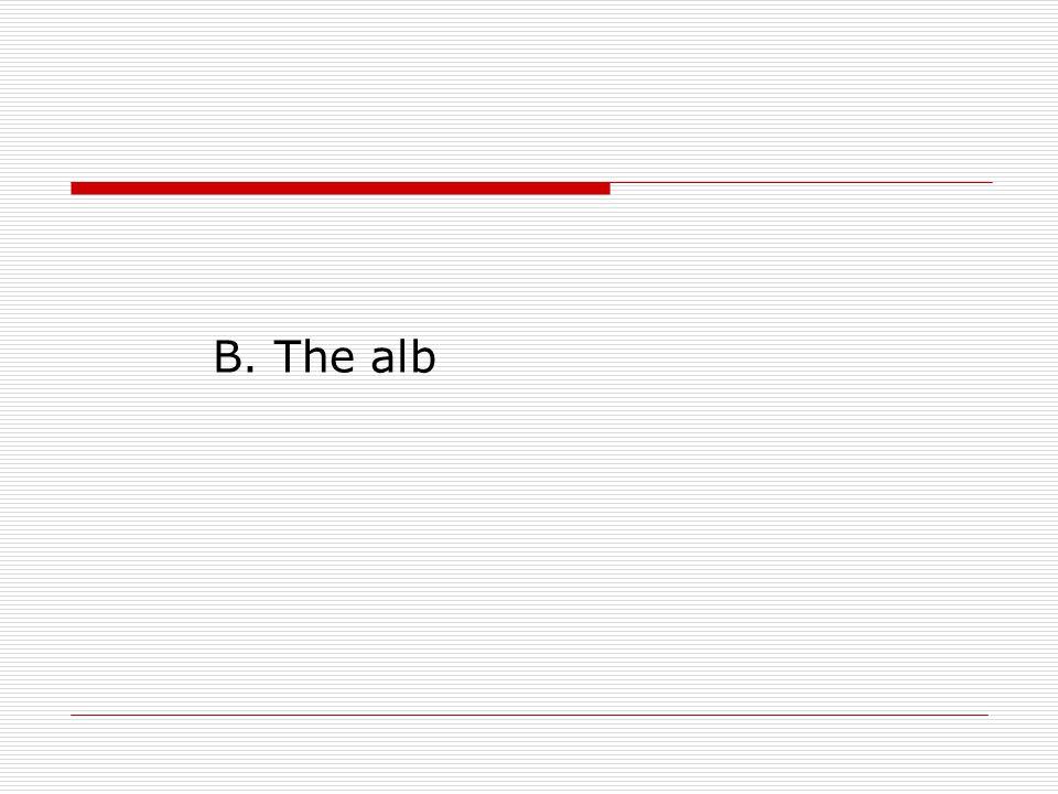 B. The alb