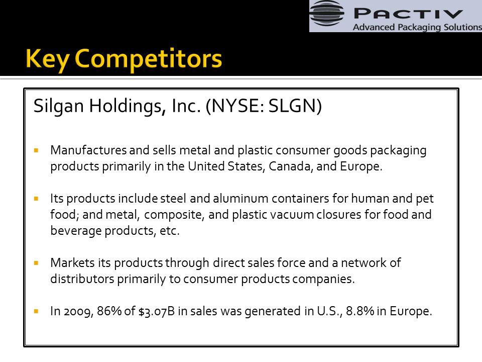 Silgan Holdings, Inc.