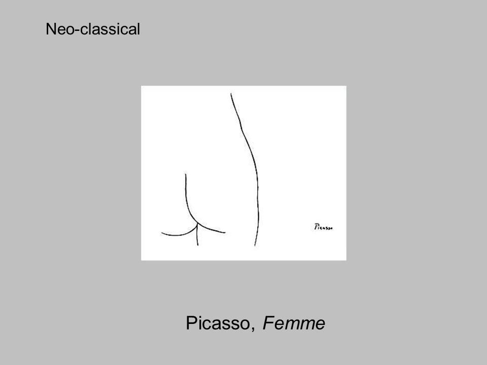Picasso, Femme Neo-classical