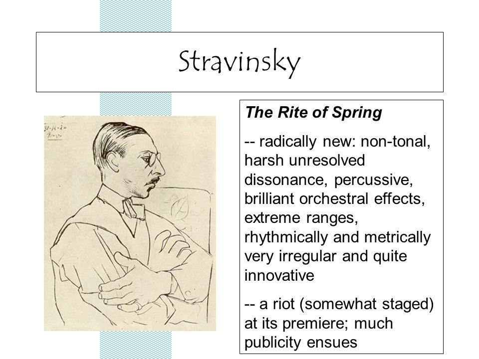 Stravinsky's drawing