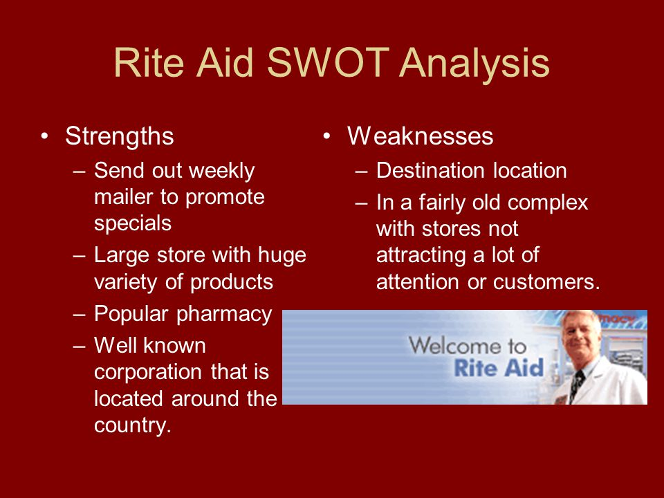 SWOT Analysis Weaknesses Cannibalization- There are more than one Les Schwab stores in Corvallis Wheel Prices- Prices on wheels tend to be a little high Front Desk- More people so customers don't have to wait