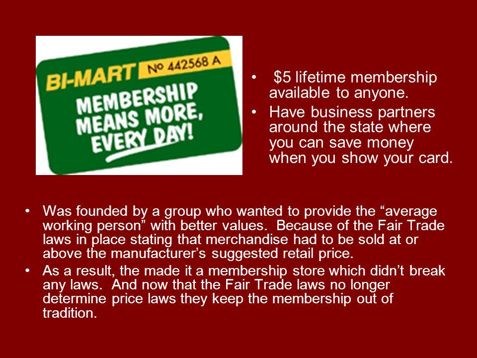Bi-Mart SWOT Analysis Strengths –Loyal customer base.