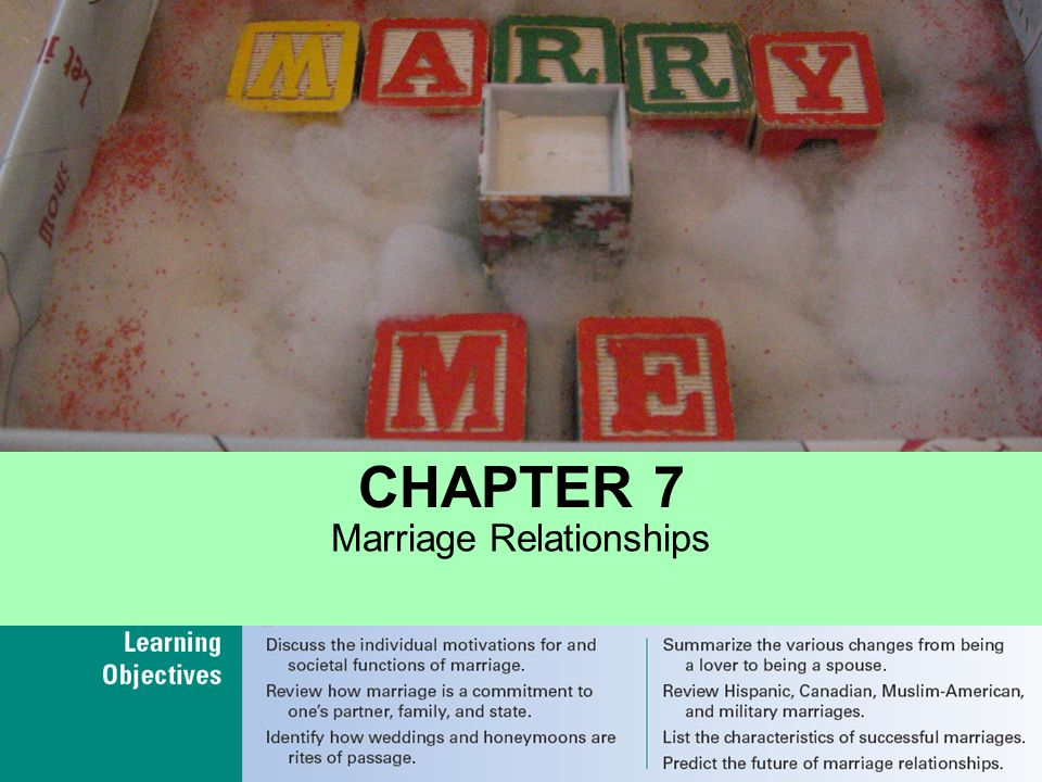 Marital success refers to the quality of the marriage relationship measured in terms of marital stability and marital happiness.