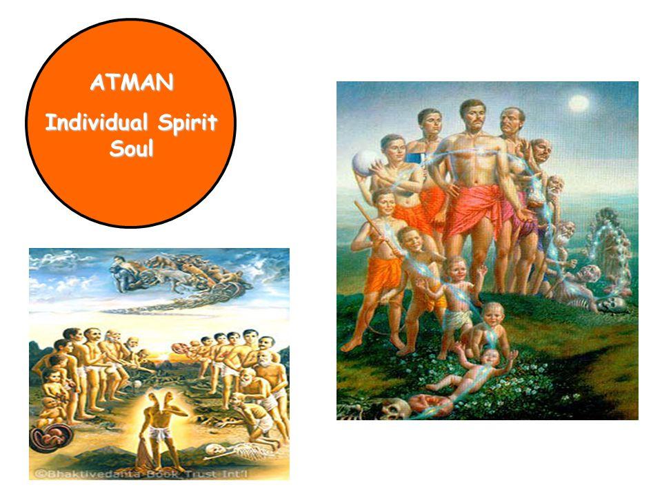ATMAN Individual Spirit Soul