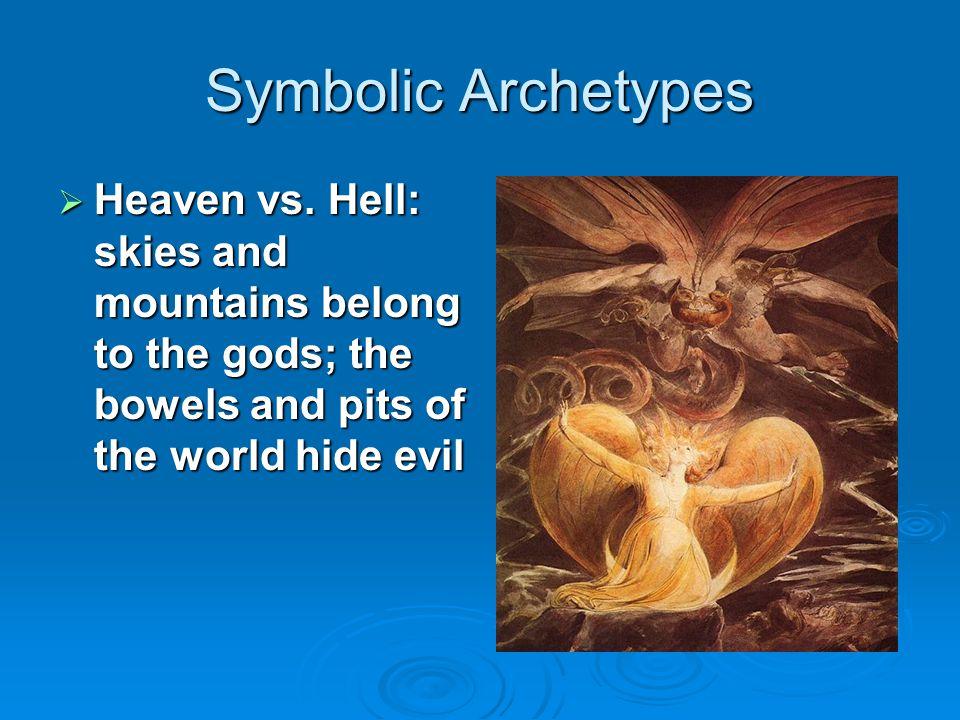 Symbolic Archetypes  Innate Wisdom vs.Educated Stupidity: instinctive intelligence vs.