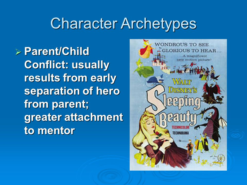 Character Archetypes  Hunting group of companions: band of loyal friends willing to battle together to achieve a common goal